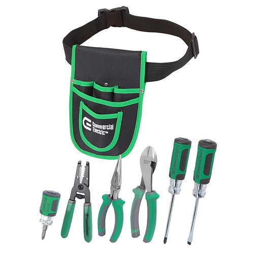CE 6-Piece Electrician's Tool Set with Pouch
