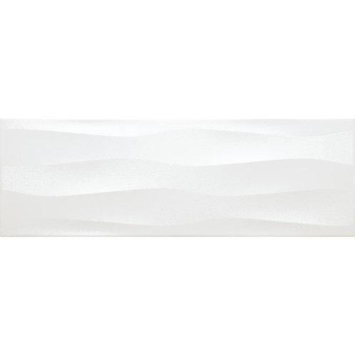 Emser Artwork Pearl Wave 11.81 in. x 35.43 in. Ceramic Wall Tile