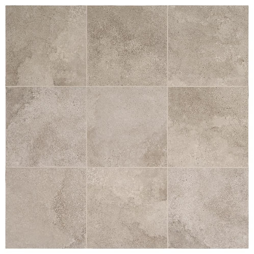 Daltile - Hastings Gray 12 in. x 12 in. Glazed Porcelain Floor and Wall Tile