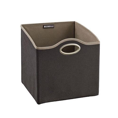 ClosetMaid 4.76-gal. Small Fabric Storage Bin in Gray