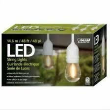 Feit Electric 48' LED Filament String Light Set - White