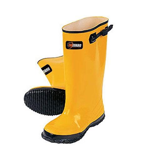 Enguard Men Size 10 Yellow Rubber Slush Boots