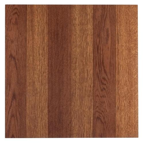 Achim Sterling Medium Oak Plank 12 in. x 12 in. Peel and Stick Vinyl Tile