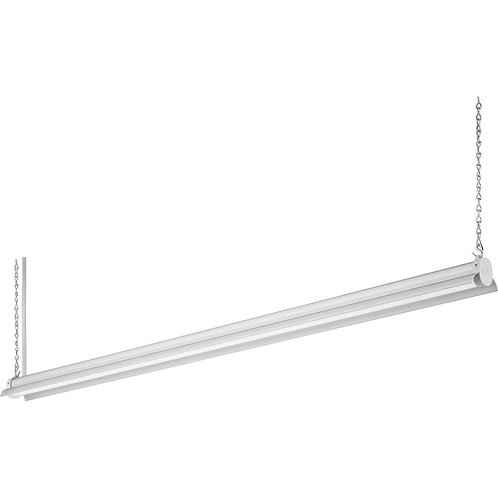 4 ft. 36-Watt Natural Aluminum Integrated LED Shop Light