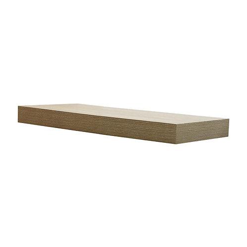 HDC 23.6 in. W x 10.2 in. D x 2 in H Driftwood Gray Oak Floating Shelf