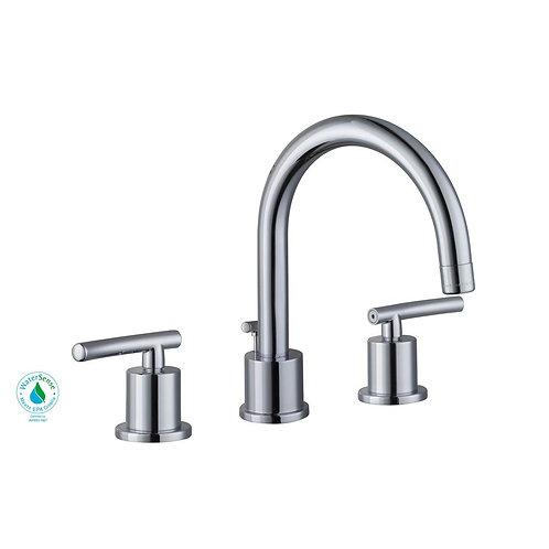 Glacier Bay Dorset 8 in. Widespread 2-Handle Bathroom Faucet in Chrome