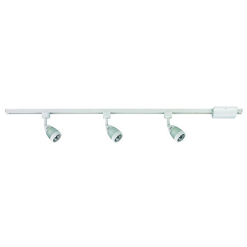 Hampton Bay 3-Light White Linear Track Lighting Kit