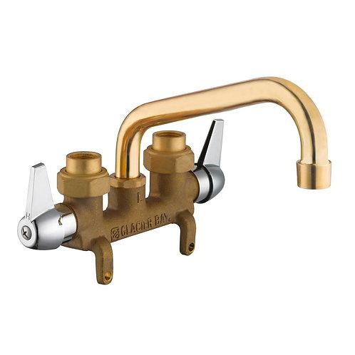 Glacier Bay 2-Handle Laundry Faucet in Rough Brass