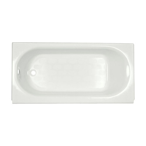 American Standard Princeton Recess 5 ft. Left Drain Bathtub in White