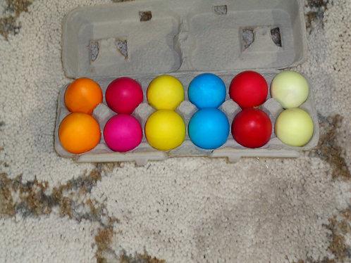 Cascarones Confetti Easter Eggs