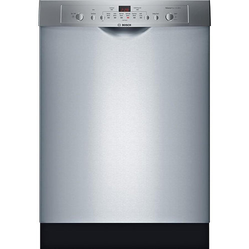 Bosch Ascenta 50-Decibel Built-In Dishwasher with Tub, 24-in., SHE3AR75UC-Stainl