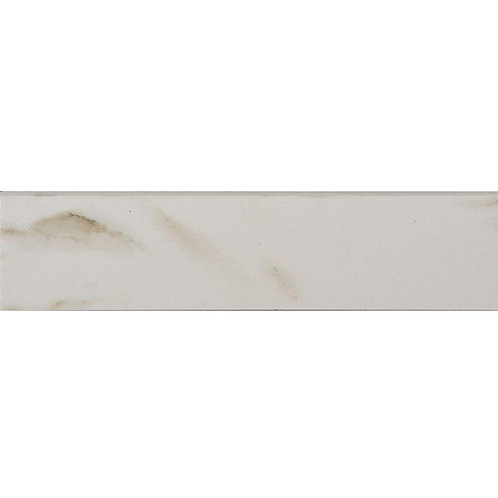 Florida Home Tile Collection Michelangelo White 3 in. x 12 in. Porcelain Floor B