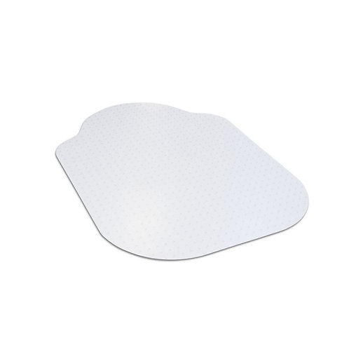Dimex Evolve Modern Shape Clear Office Chair Mat with Lip for Carpet