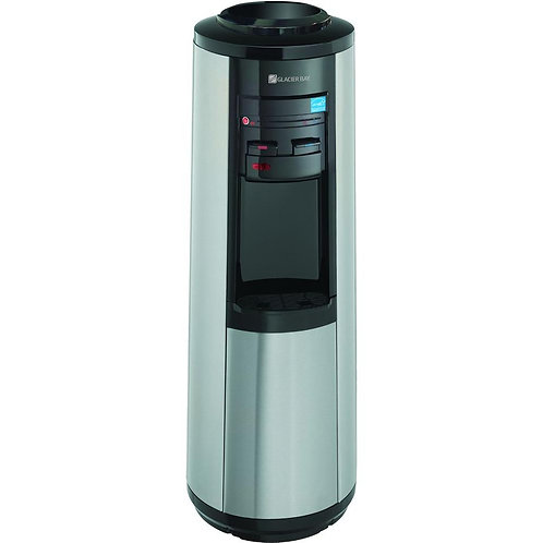 Glacier Bay 3 Gal. or 5 Gal. Hot, Room and Cold Water Dispenser in Black and Sta