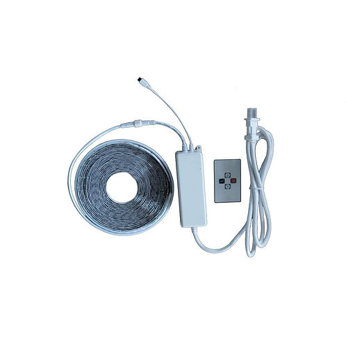 CE 24 ft. LED Bright White Indoor/Outdoor Tape Light Kit