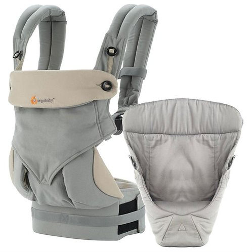 Ergo Baby Bundle of Joy Four Position 360 Carrier Grey