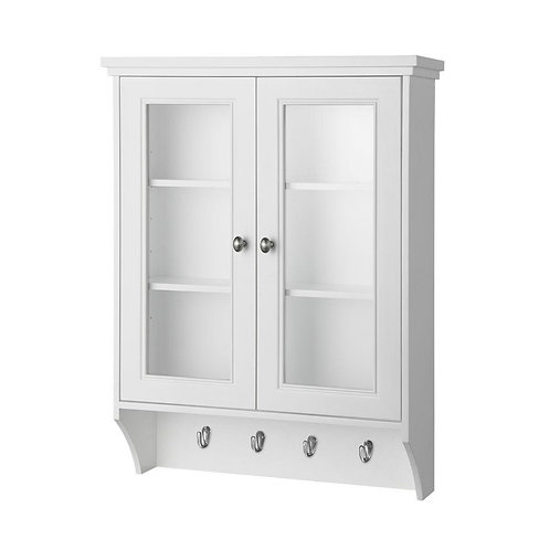 Gazette 23-1/2 in. W x 31 in. H x 7-1/2 in. D Bathroom Storage Wall Cabinet with