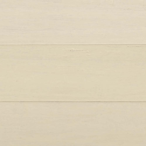 """Hand Scraped Wire Brushed Strand Woven White (1/2"""")"""
