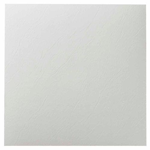 Achim Nexus White 12 in. x 12 in. Peel and Stick Solid Vinyl Tile