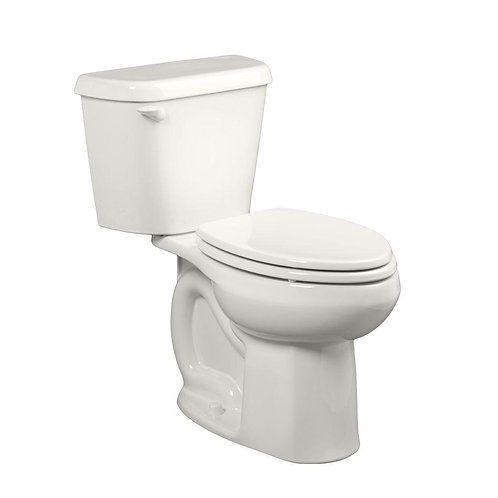 American Standard Colony 2-piece 1.6 GPF Tall Height Elongated Toilet in White