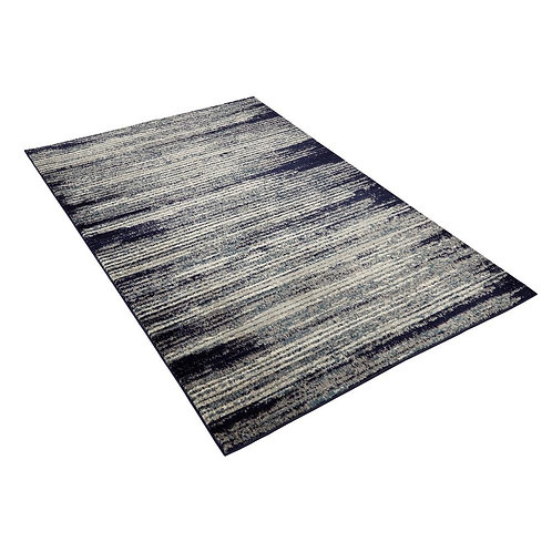 Diagona Designs Navy and Ivory 5 ft. 3 in. x 7 ft. Area Rug