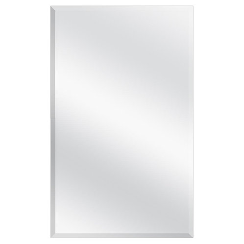 Glacier Bay 16 in. W x 26 in. H Frameless Recessed or Surface-Mount Bathroom Med