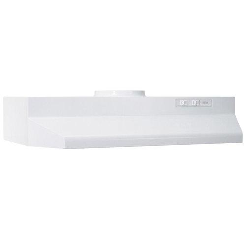 Broan 42000 Series 30 in. Range Hood in White