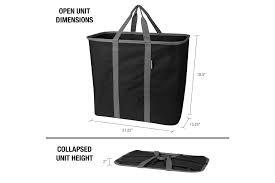 Collapsible Laundry Basket & Hamper, Holds 2 Loads