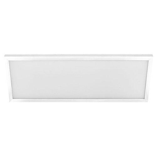 1 ft. x 4 ft. White LED Edge-Lit Flat Panel Flushmount