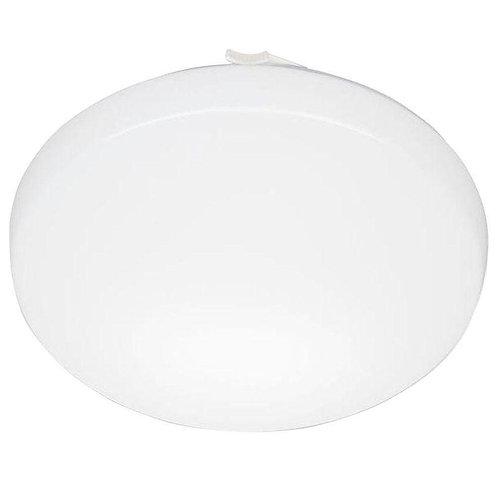 11 in. Round Low-Profile White LED Flushmount