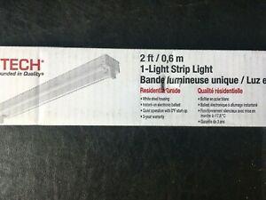 """24 """" Utilitech Ceiling Fluorescent Light Fixture Hosing"""