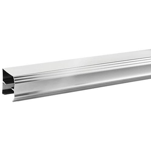 Delta 48 in. to 60 in. Sliding Shower Door Track Assembly Kit in Chrome