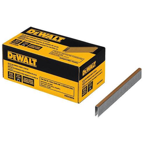 DEWALT - 20-Gauge 9/16 in. L Galvanized Carpet Staples (5,000-Box)111 $