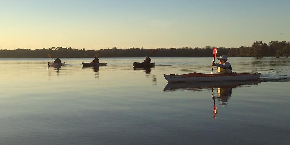 Full Moon Paddle to Welaka Spring