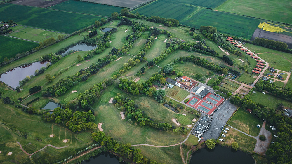 Messingham Grange Aerial View