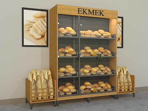 Market Ekmek Dolabı Takımı