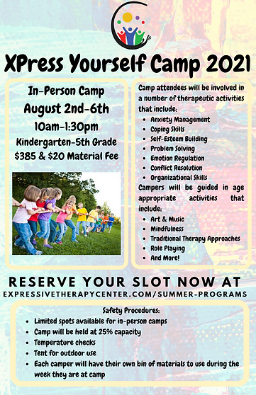 XPress Yourself August Camp 2021
