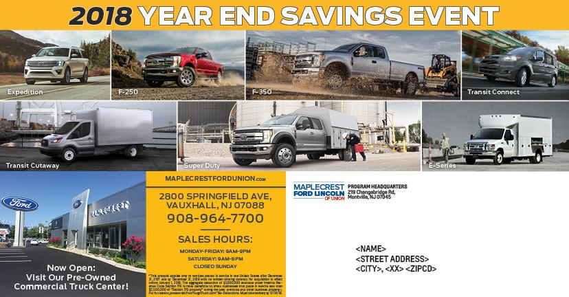MFL-1095 11.5x6 Commercial Truck IRS Tax