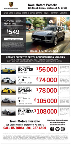 TOP-139 Porsche New Used Email (9-2018).