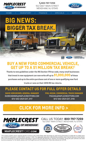 MOM-309 Commercial Tax Deduction Email (