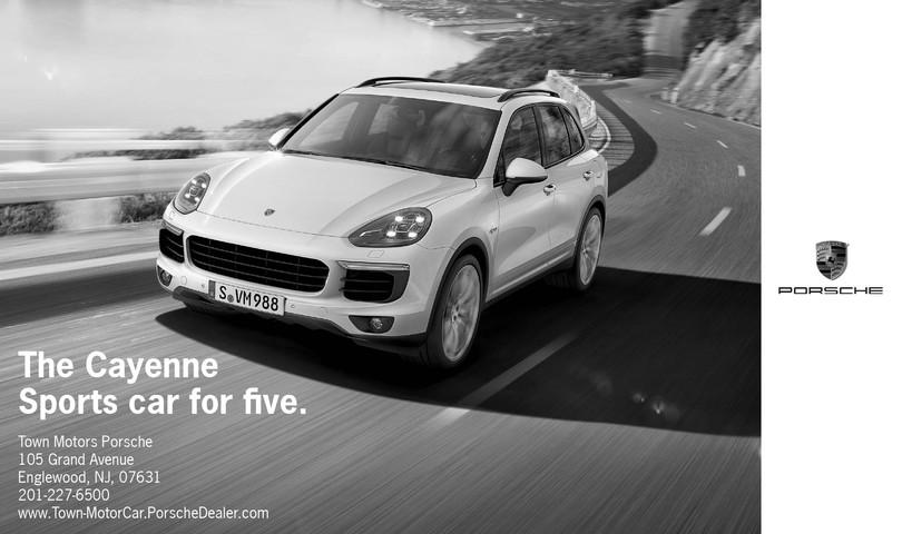 TOP-140 7.60x4.50 B&W Porsche Ad (9-2018