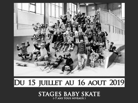 STAGES SKATE ETE