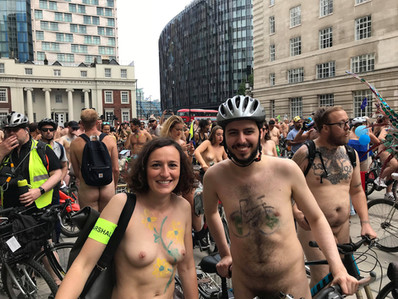 World Naked Bike Ride 2018
