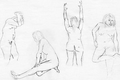 Life Drawing, 2009 - Gallery II