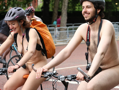 World Naked Bike Ride 2017