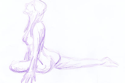 Life Drawing, 2015 - Clothing Optional III