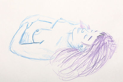 Life Drawing, 2017 - Clothing Optional II