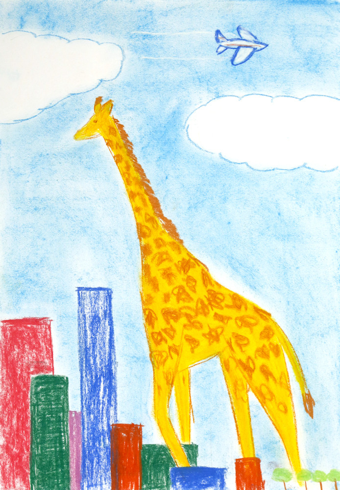 Giraffes are very tall,