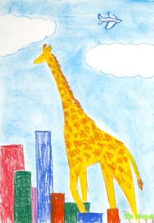 Giraffes are very tall,