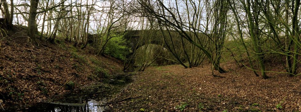 Lancashire, Derbyshire and East Coast Railway bridge 2